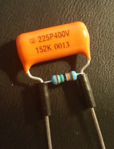 1 - Sprague ORANGE DROP Treble Bleed Kit Mod - Strat, Tele, Humbuckers Too!!