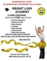 Back to School - Weight Loss Academy