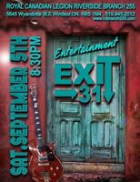 The Royal Canadian Legion.Br255 Presents Live band EXIT 31