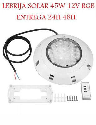 FOCO LED LUZ PISCINA 45W RGB 7 COLOR ENTREGA 48H 20W 25W...