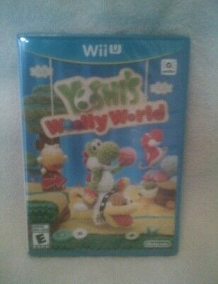 Yoshis Woolly World  Nintendo Wii U  2015    Brand New   Amiibo