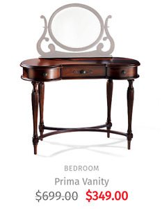 Bombay Prima Vanity PRICE INCLUDES DELIVERY! Save $10 PICK IT UP