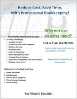 BOOKKEEPING For Your Peace of Mind
