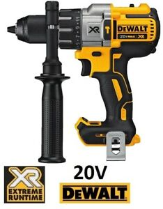 "NEW DEWALT 20V MAX 1/2"" BRUSHLESS CORDLESS HAMMER DRILL (TOOL ON"