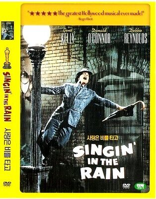 Singing Singin' in the Rain (1952) DVD / Gene Kelly, Donald O'Connor / Brand New