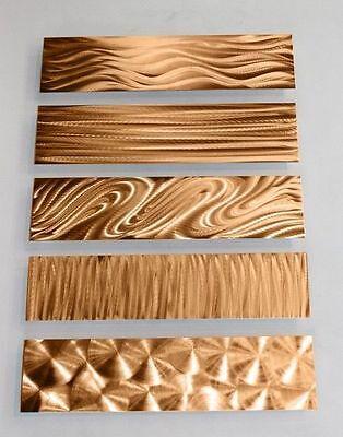 Statements2000 Metal Wall Accent Art Sculpture by Jon Allen 5 Easy Pieces Copper