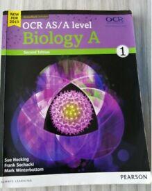 OCR AS biology textbook