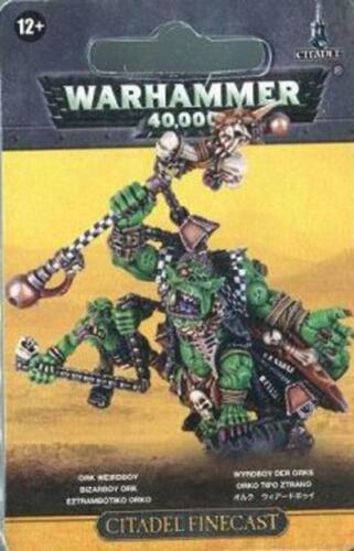 Ork Weirdboy Blister Warhammer 40K NIB