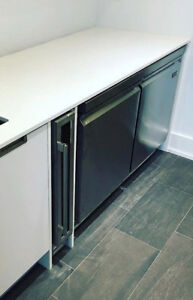 """48"""" Undercounter Worktable Commercial Freezer Stainless Steel"""