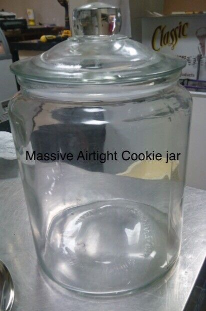 Airtight Cookie Jar Adorable Massive Airtight Cookie Jar Cateringcafecoffee Shop In