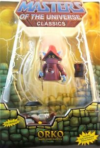 Masters of the Universe MOTU Classics ORKO w/ Prince Adam --Re-Issue--