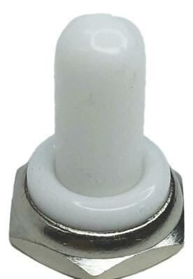 Toggle Switch Waterproof White Rubber Boot Guard Or Cover With Hex Nut