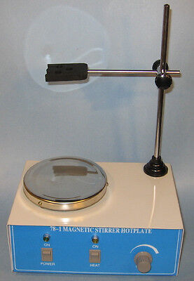 Electric hotplate hot plate magnetic stirrer with mixer bar lab New for sale  Fremont