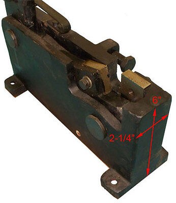 24 Mm 0.94 Manual Hand Shear Rebar Rod Square Flat Steel Metal Cutter Cutting