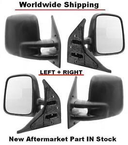 VOLKSWAGEN TRANSPORTER T4/MULTIVAN (90-03) Mirrors LEFT+RIGHT SET IN STOCK