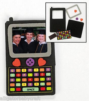 Smart Phone Magnet Photo Frame Craft Kit for Kids Alphabet Letters! ABCraft
