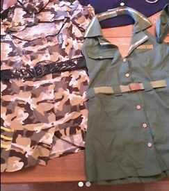 Army fancy dress outfits