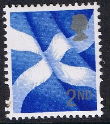 GB QEII MNH STAMP Scotland SG S109 2nd Class Scottish Flag Regional Definitive