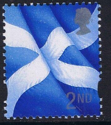 GB QEII MNH STAMP Scotland SG S94 2nd Class Scottish Flag Regional Definitive