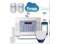 PYRONIX ENFORCER WIRELESS ALARM SYSTEM