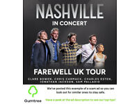 Nashville In Concert Tickets -- Read the ad description before replying!!