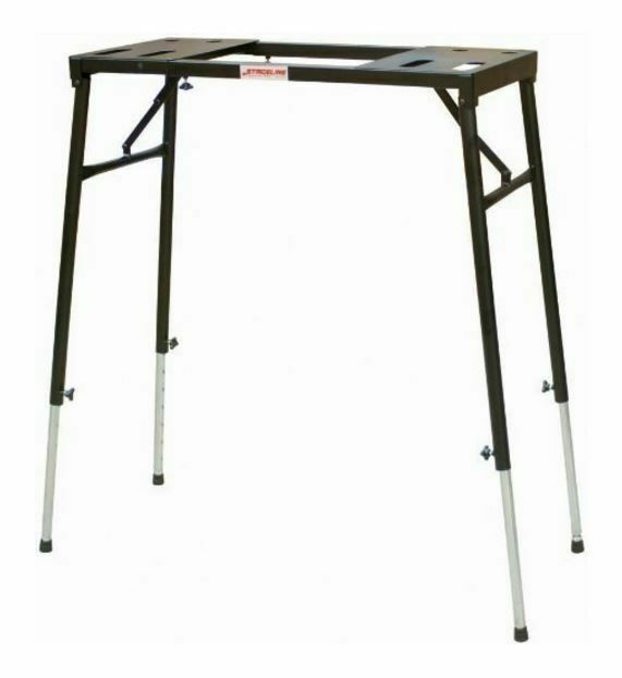 Stageline KS11 Portable Expandable Table-Top Keyboard Stand