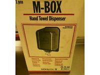 M-Box towel dispenser