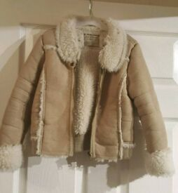 Girls coat age 6/7 years
