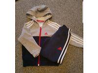 Adidas Boys Tracksuit