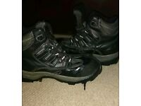 Airsafe composite toe waterproof hiking boots
