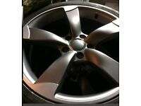 Brand new alloys with brand new Avon tyres 18 inch