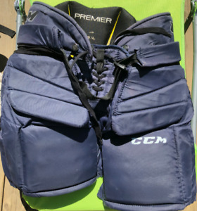 SUPERBE CULOTTE DE GARDIEN BUT CCM PREMIER JR GOALIE PANTS G / L