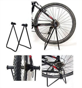 NEW-FOLDING-BIKE-FLOOR-STORAGE-RACK-STAND-FOR-FIX-CYCLE-BICYCLE-GARAGE-OUTDOOR