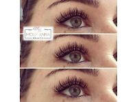 Individual Eyelash Extensions & Lash Lifts with Tint