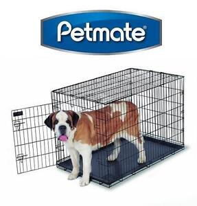 "NEW PETMATE TRAINING DOG KENNEL WIRE HOME TRAINING DOG KENNEL - 42"" X 28"" X 31"" 107959638"