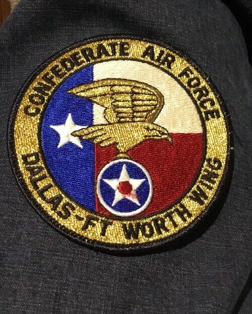 21014 Vintage Confederate Air Force PATCH Dallas Ft Worth Wing