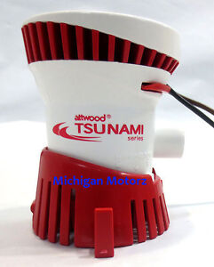 Attwood-Tsunami-T500-GPH-Cartridge-Bilge-Pump-Bayliner-Four-Winns-SeaRay
