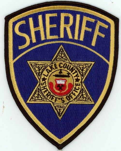 LAKE COUNTY SHERIFF COLORADO CO COLORFUL STYLE #1 POLICE PATCH