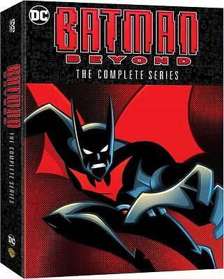 Batman Beyond:The Complete Series (DVD,2016,9-Disc Set,Seasons 1-3) NEW