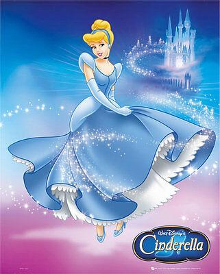 Poster DISNEY PRINCESS - Cinderella Dress (MP0622)  ca40x50cm NEU z406