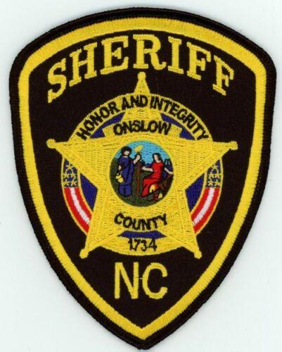 ONSLOW COUNTY SHERIFF NORTH CAROLINA NC NEW PATCH POLICE