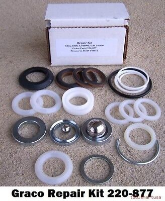 Aftermarket Pump Repair Kit For Graco Airless Paint Sprayer 220-877 220877