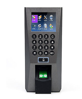Zk F18 Biometric Fingerprint Access Controltime Attendence Control System