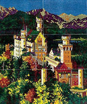 Mini Stecksystem Schloss Neuschwanstein im Sommer XXL ca. 13.000 Teile Nr. 41274