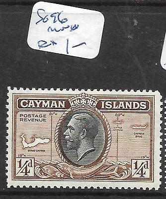 CAYMAN ISLANDS (PP2002B) KGV  CENT 1/4D SG 96  MNH
