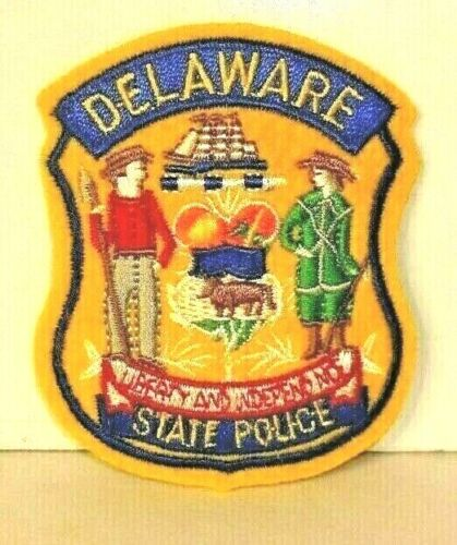 DELAWARE STATE  POLICE OFFICER  patch
