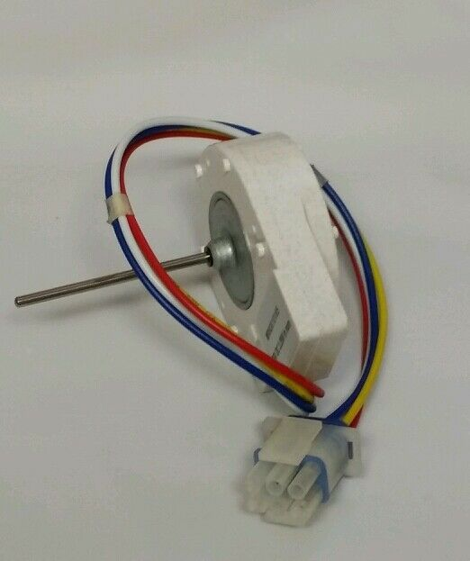 New evaporator fan motor dc for ge refrigerator freezer for Ge refrigerator evaporator fan motor replacement
