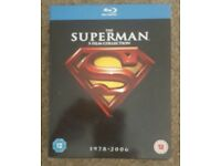 Superman blurays collection