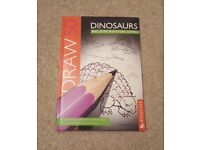 DRAW 50 DINOSAURS - NEW - KINGFISHER/LEE J AMES - PAPERBACK