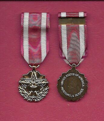 Meritorious Service Anodized mini miniature Award medal (Meritorious Service Mini Medal)